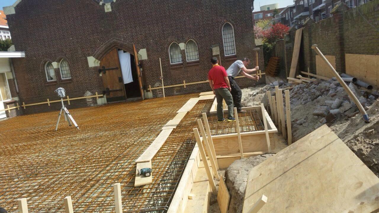 Uitbreiding kerk Den Haag